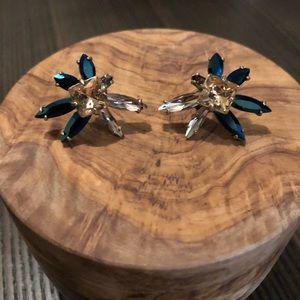 J. Crew Rhinestone Stud Earrings